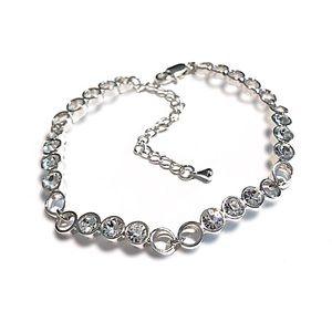 Silver Tone Swarovski Elements Bracelet NWT